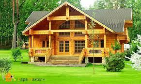 Преимущества дома, построенного из бруса — Ремонт дома