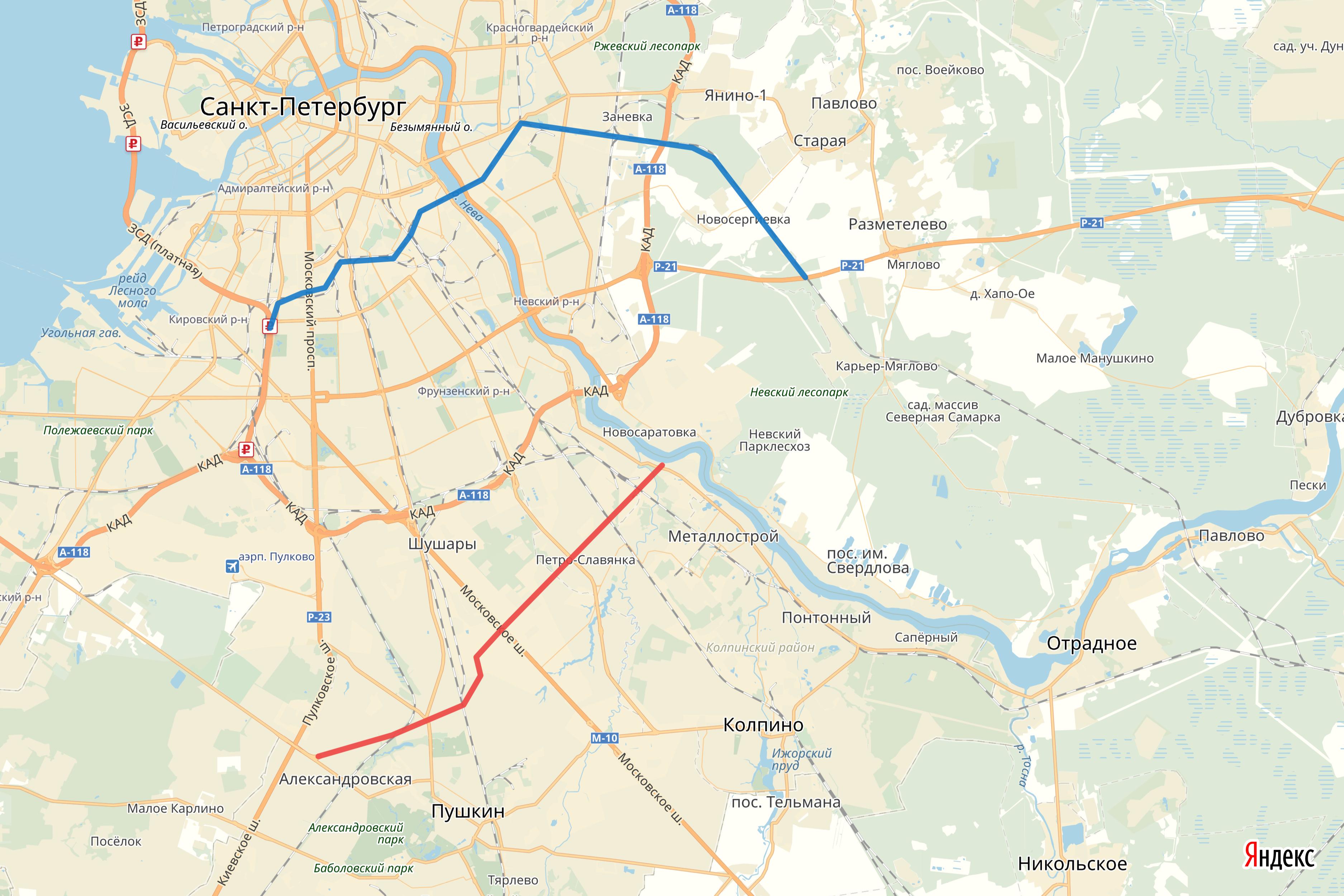 Восточный скоростной диаметр и Южная широтная магистраль. Где их проложат? — Агентство Бизнес Новостей — Ремонт дома